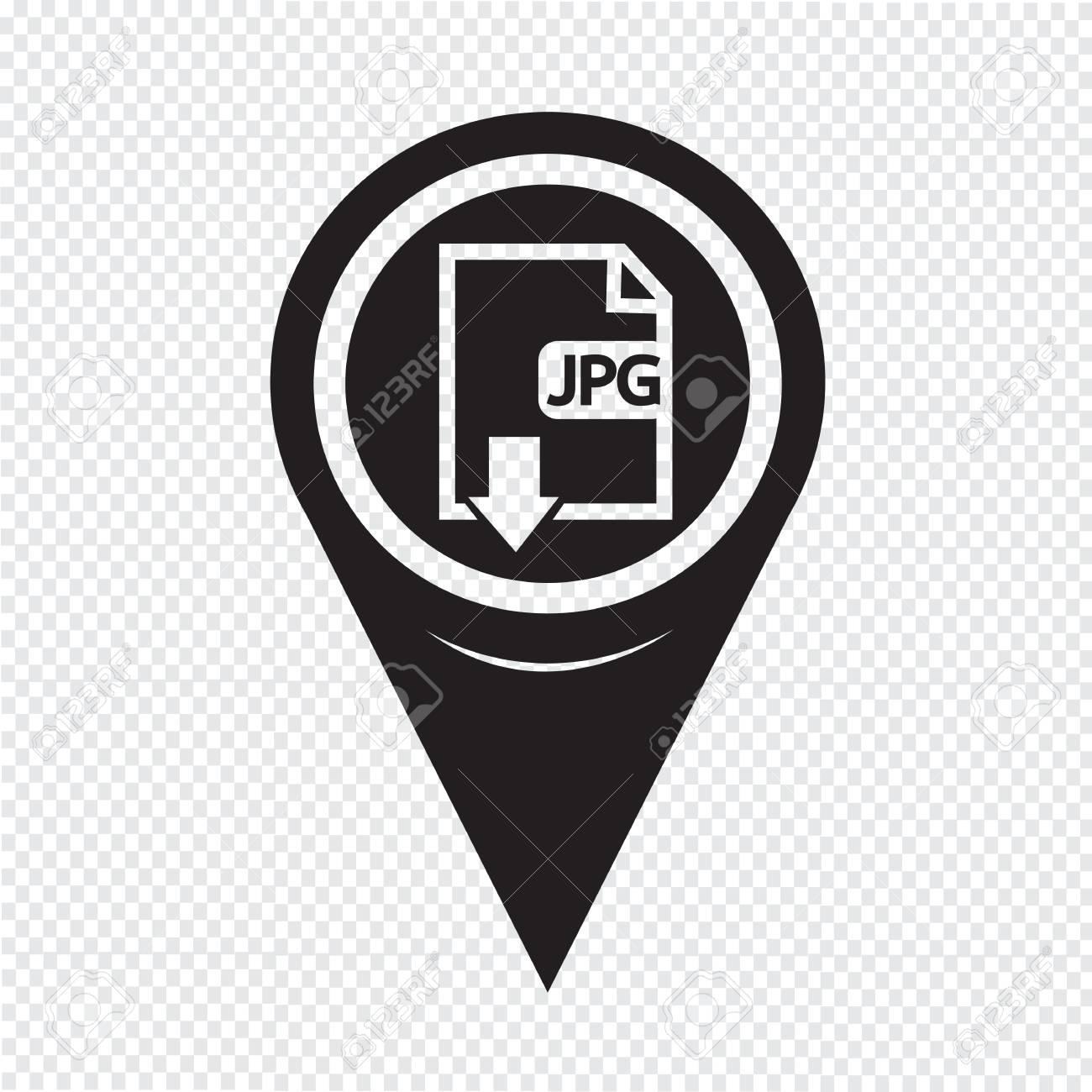 Map pin pointer file type jpg icon royalty free cliparts vectors map pin pointer file type jpg icon stock vector 49089909 buycottarizona Choice Image