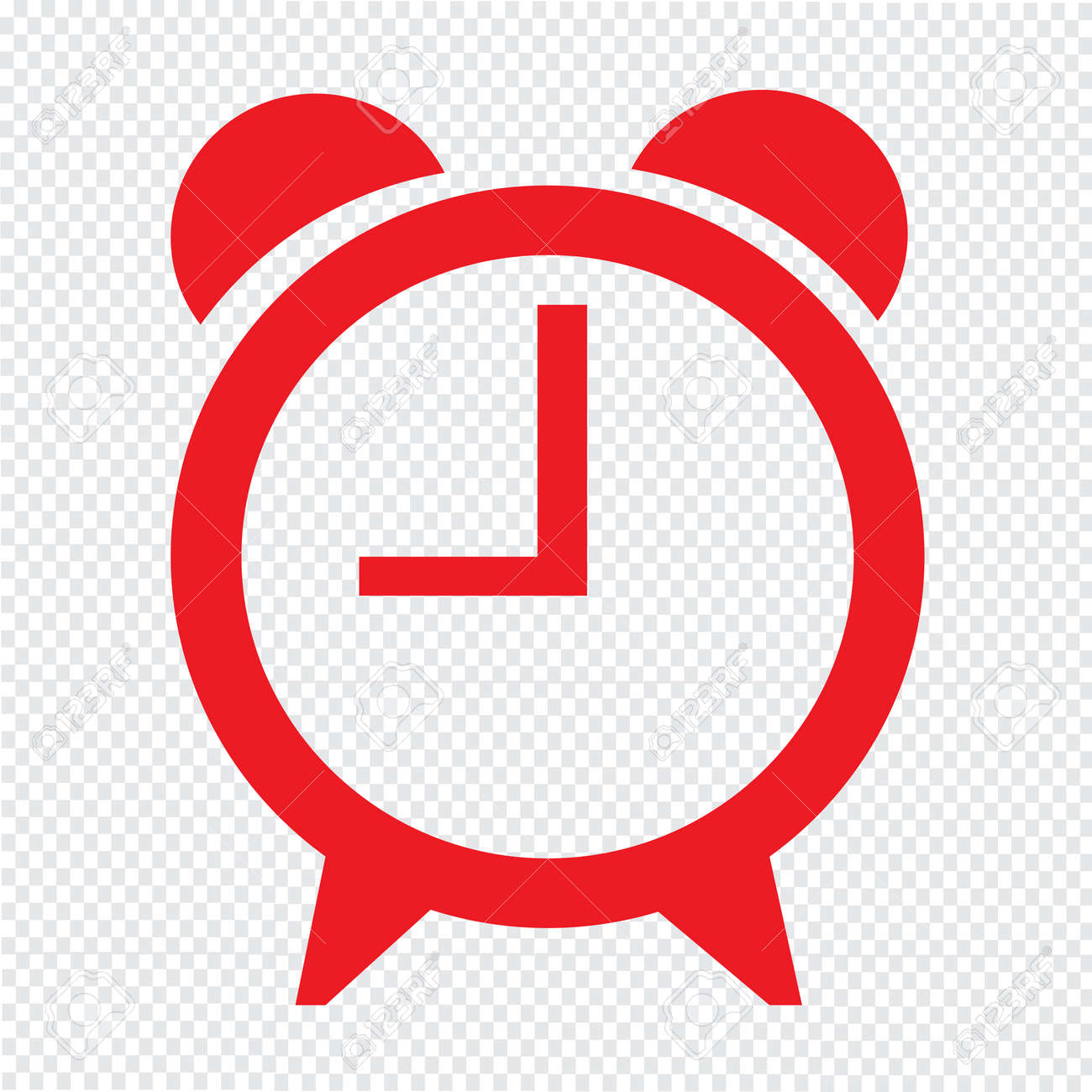 time clock icon illustration sign design royalty free cliparts