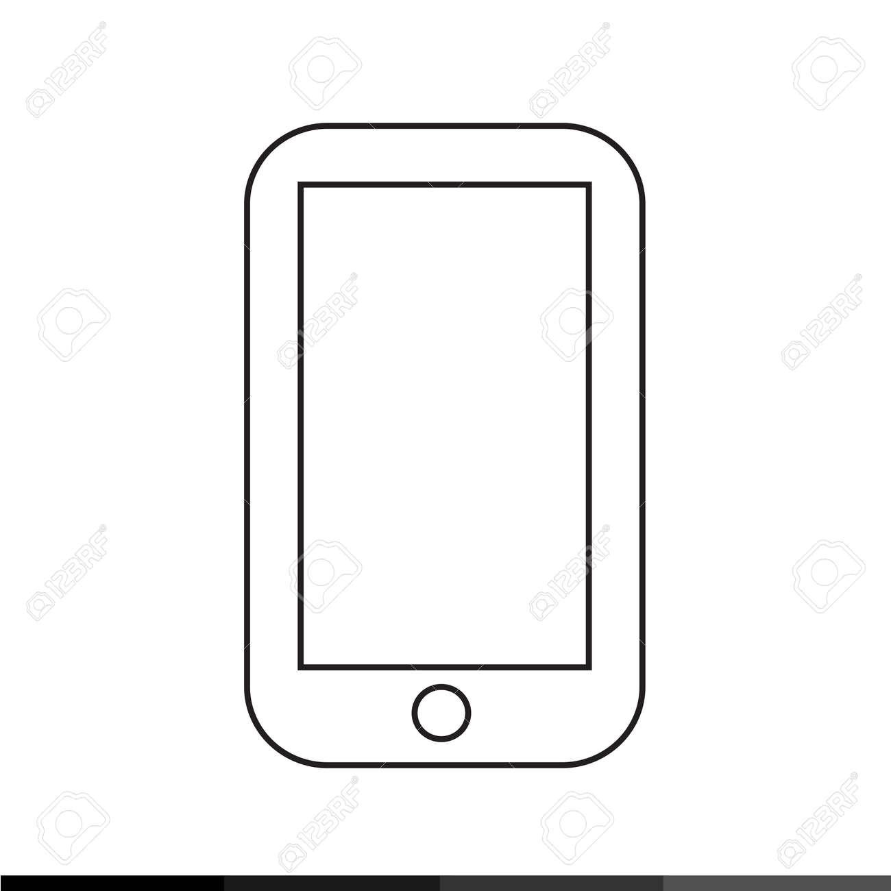 携帯電話アイコン イラスト デザイン ロイヤリティフリークリップアート