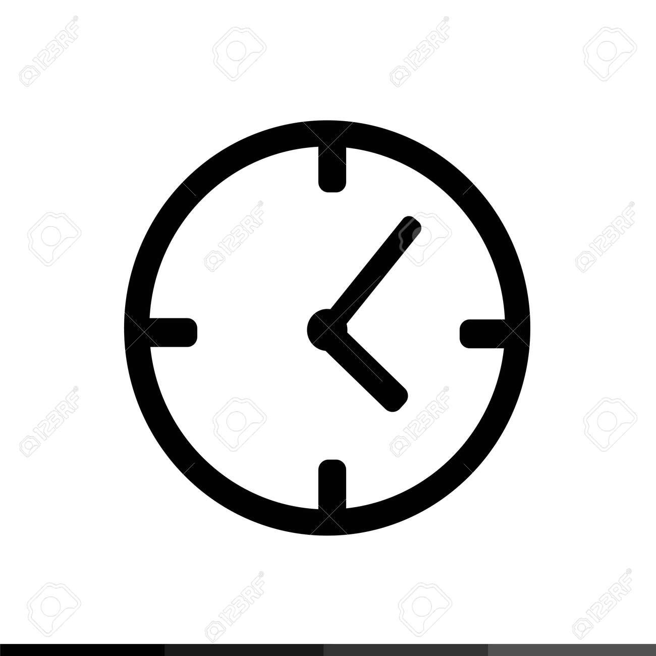 Reloj Diseño De Icono Ilustración Diseño Reloj De 8PX0nOkw