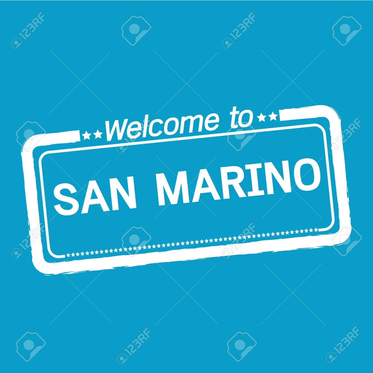 Welcome To SAN MARINO Illustration Design Royalty Free Cliparts ...