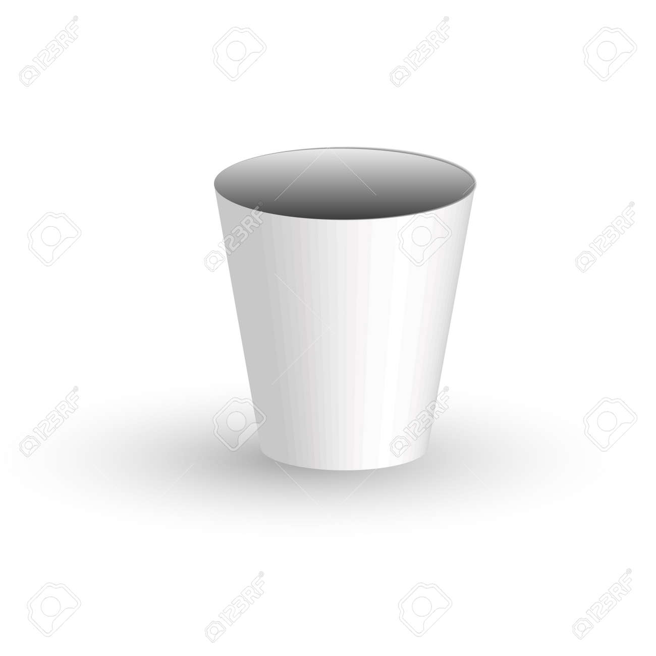 Coffee cup transparent - Paper Coffee Cup On A Transparent Background Stock Vector 56142234