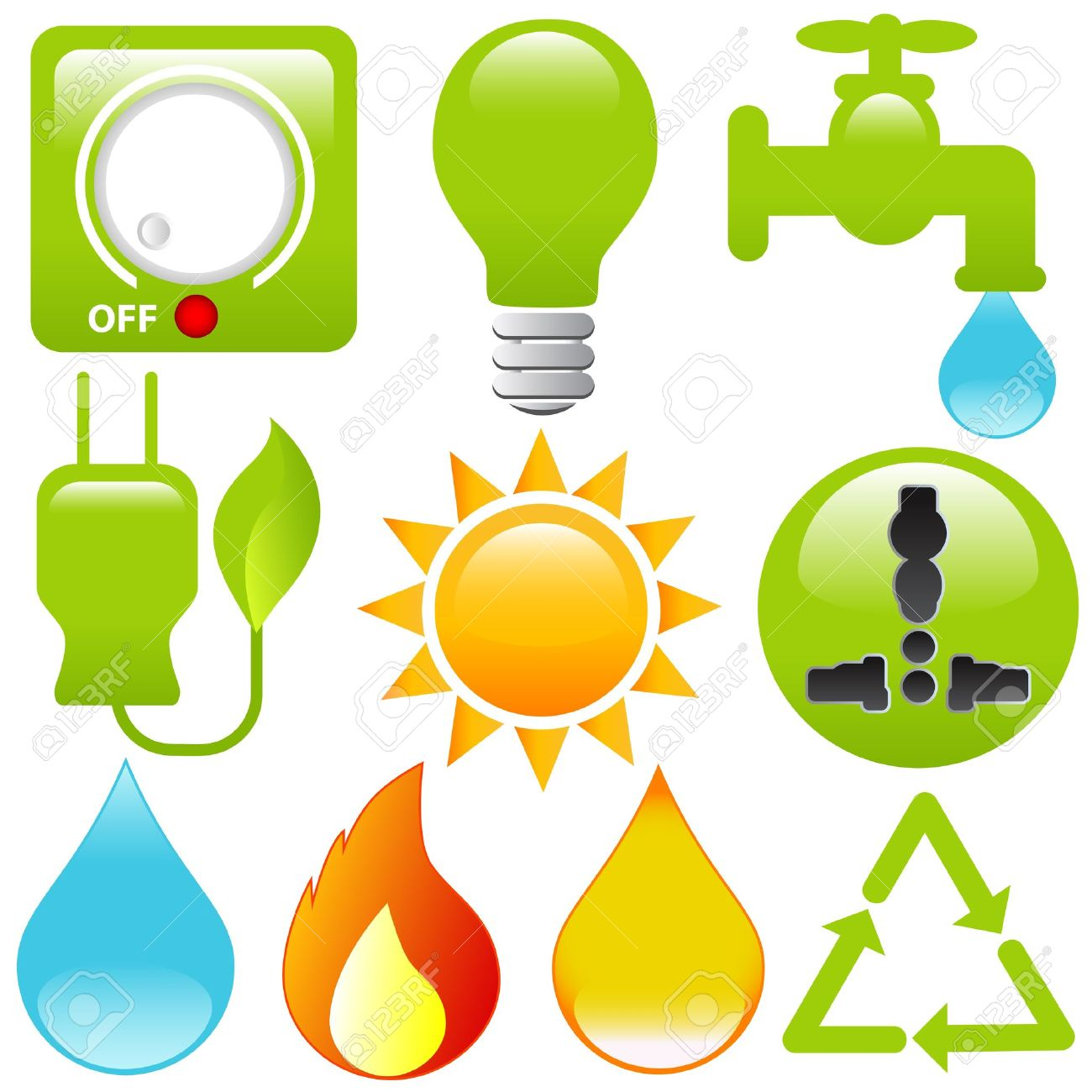 Clipart Energy Saving Energy Saving Icons Energy