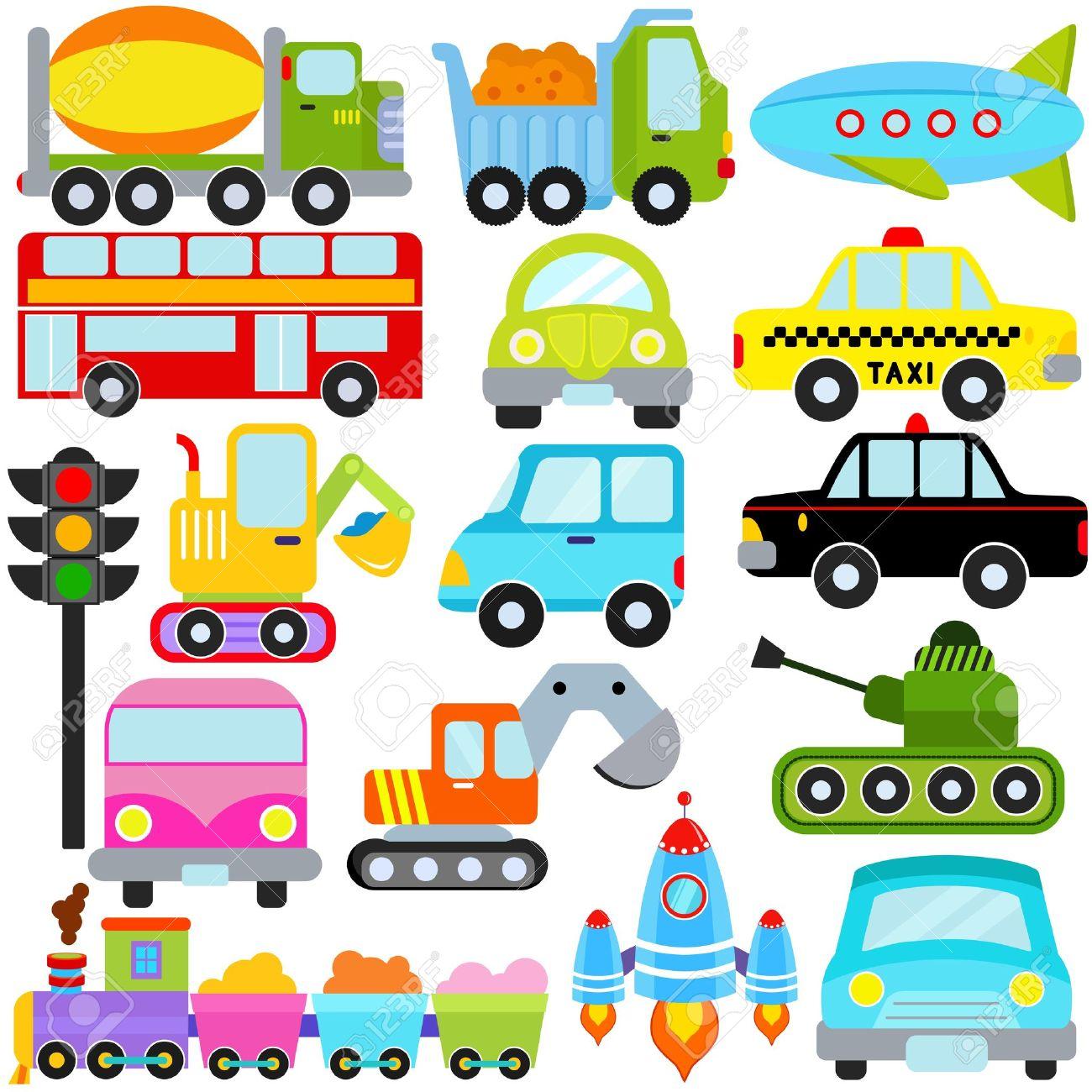 かわいいベクトルのアイコン セット: 車/自動車/交通 ロイヤリティ