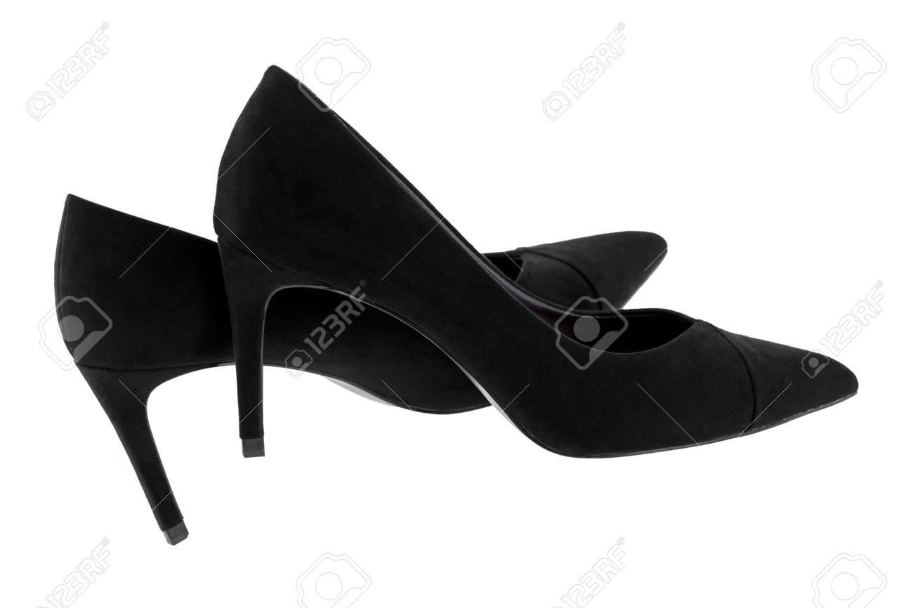 black velvet shoes heels