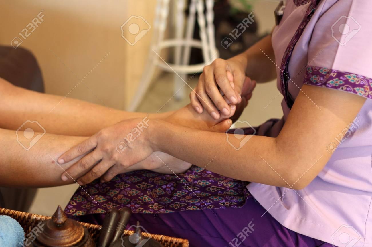thai foot massage. Stock Photo - 11548990