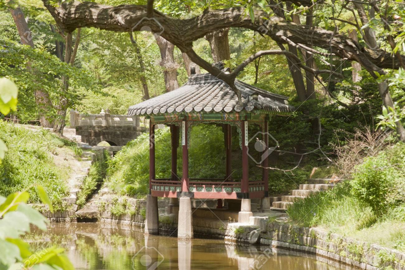 Seoul, South Korea-May 21, 2015: Gwallamjeong, Secret Garden.. Stock ...