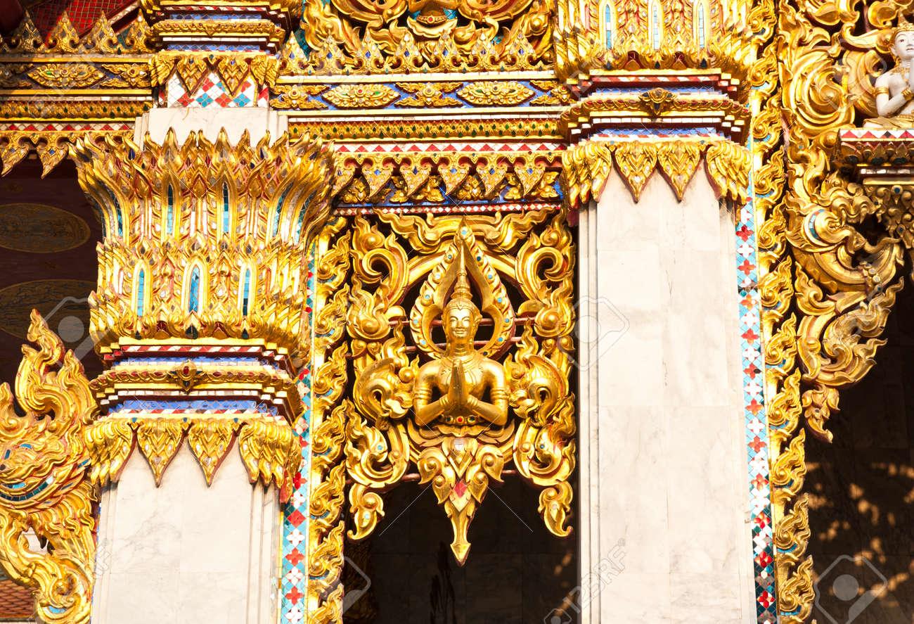 Sculpture decoration on Thailand Stock Photo - 25183631