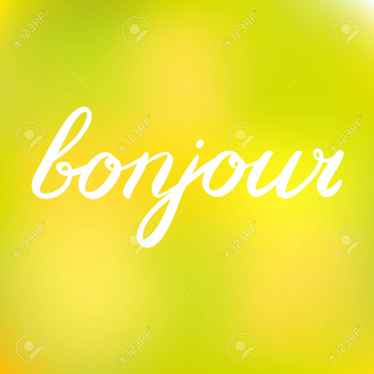 Word bonjour good day in french great for greeting card posters good day in french great for greeting card posters or scrapbooks kristyandbryce Gallery
