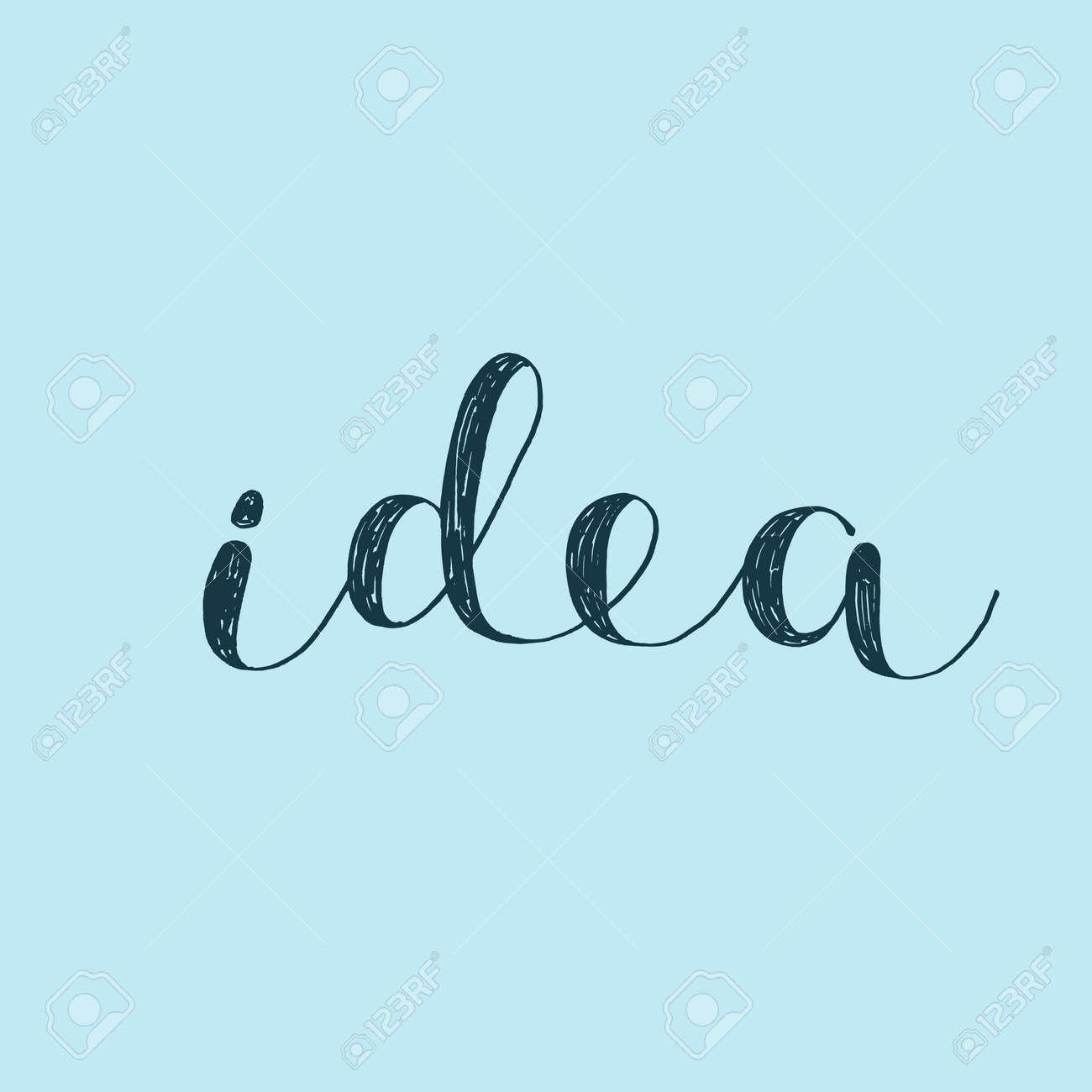 bcb8826770eb0 アイデア。ベクトル図をレタリング ブラシ手。引用を鼓舞します。現代 ...