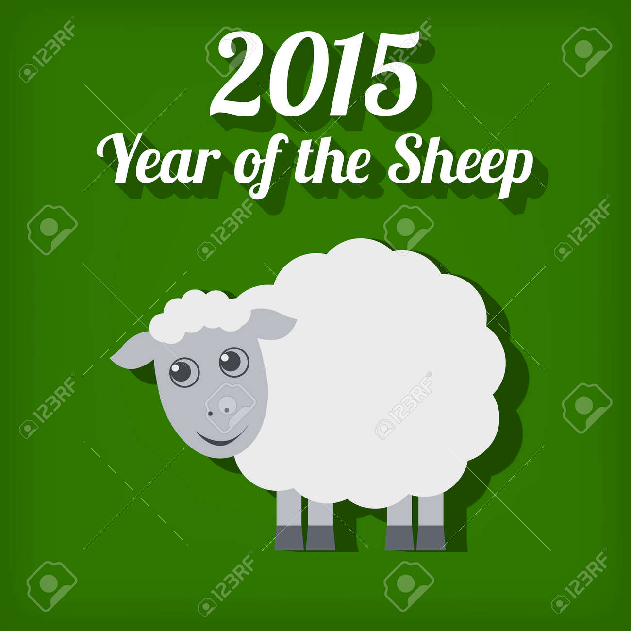 Chinese New Year Sheep Art Project