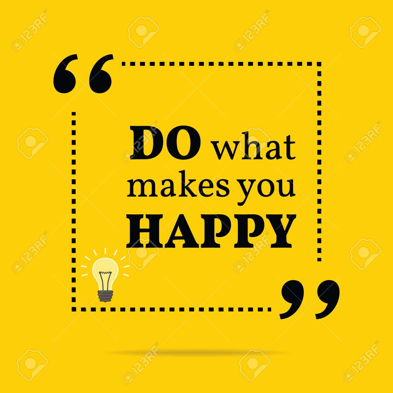 tu was dich glücklich macht