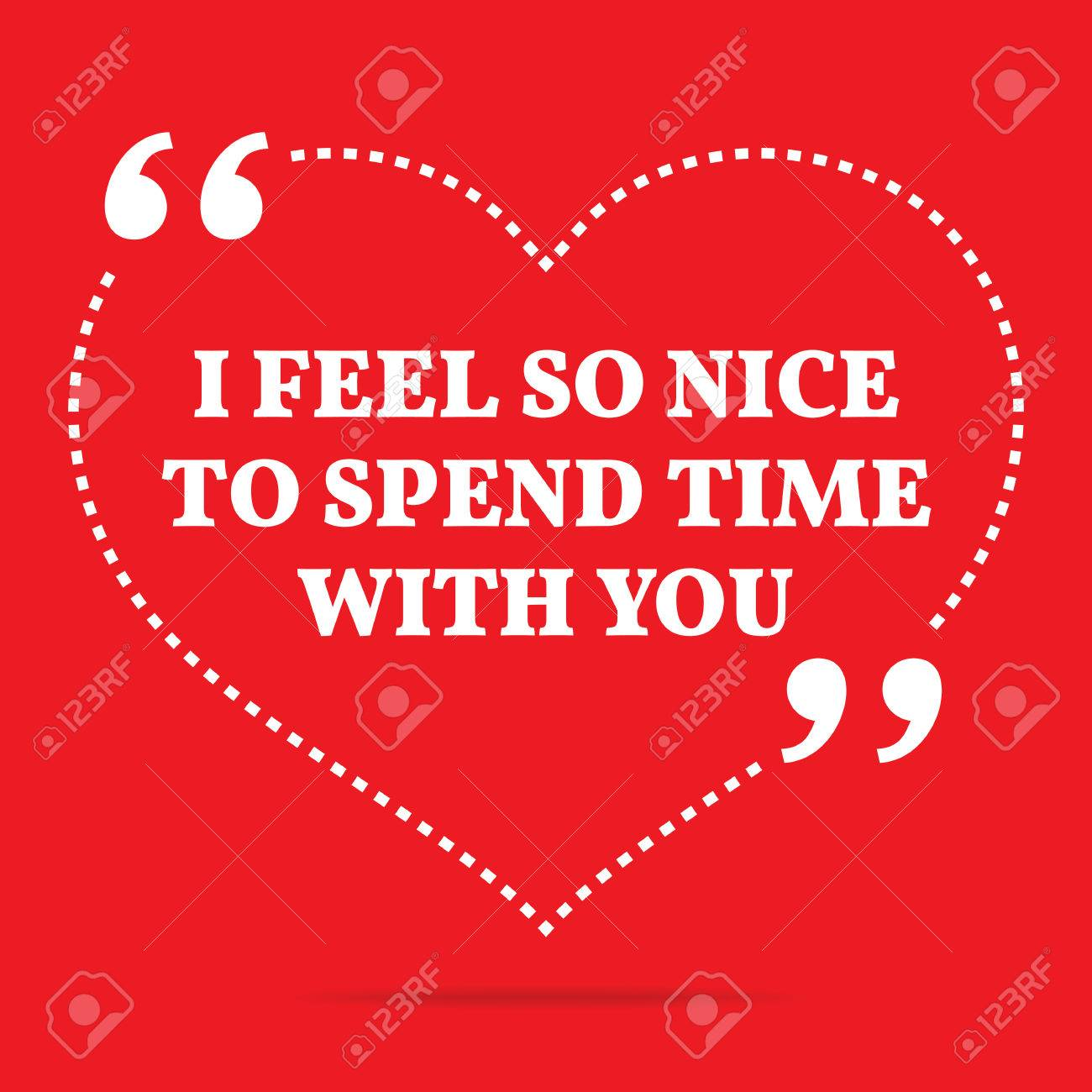 Spending time together quote