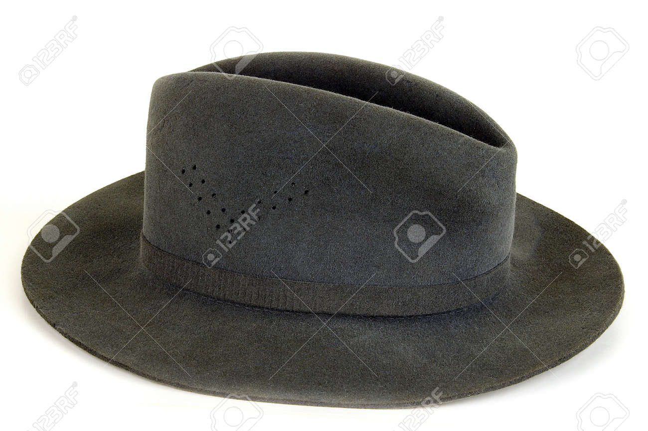 Man s hat on a light background. Sometimes carry also ladies Stock Photo -  1497626 899cd9a51c1