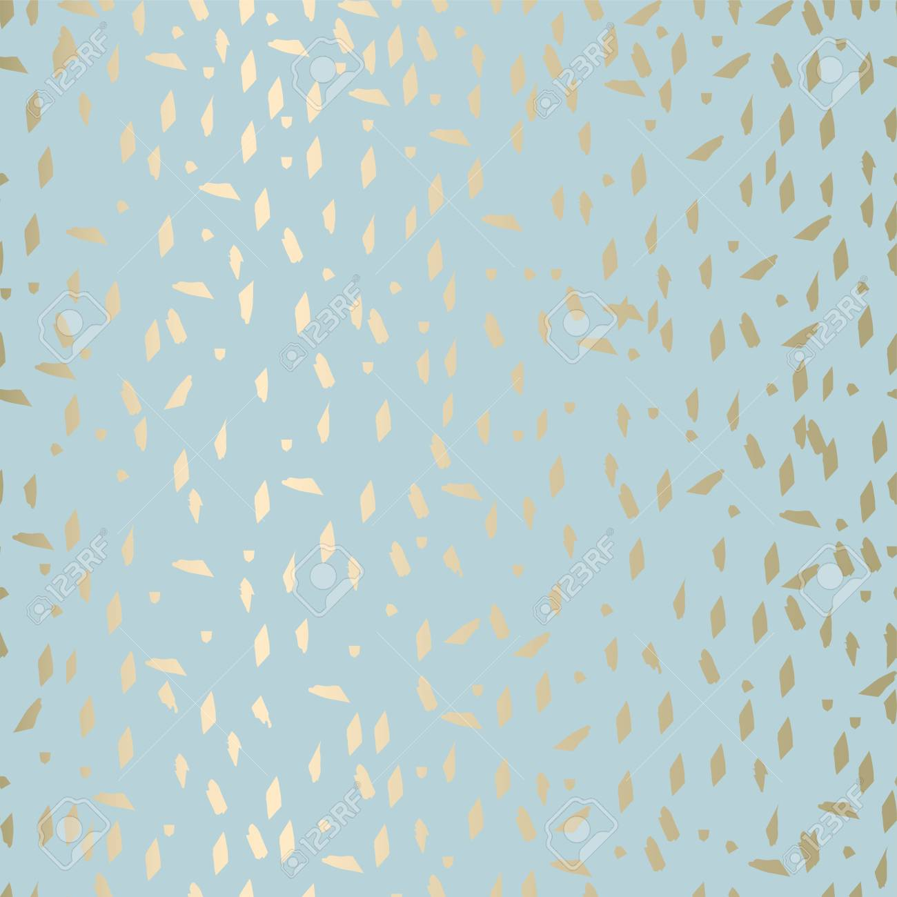Trendy abstract gold and pastel pattern in terrazzo style. Wallpaper, textile, party invitation
