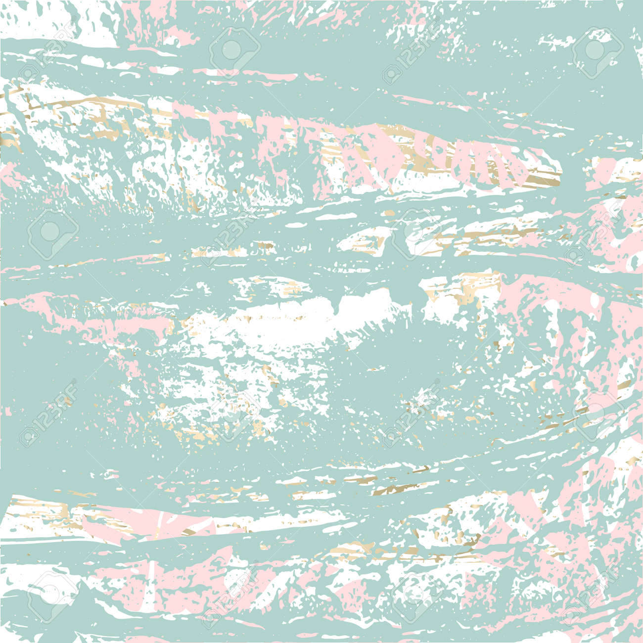 Tropical Worn Floral pastel pattern with monstera palm leaves for wallpaper, textile, flooring,
