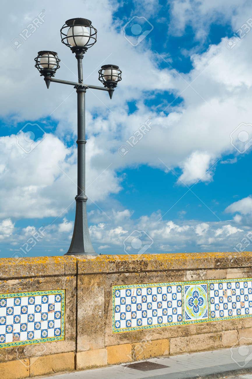 Patterns Of Colored Ceramic Tiles Along The Sides Of Saint Francesco ...