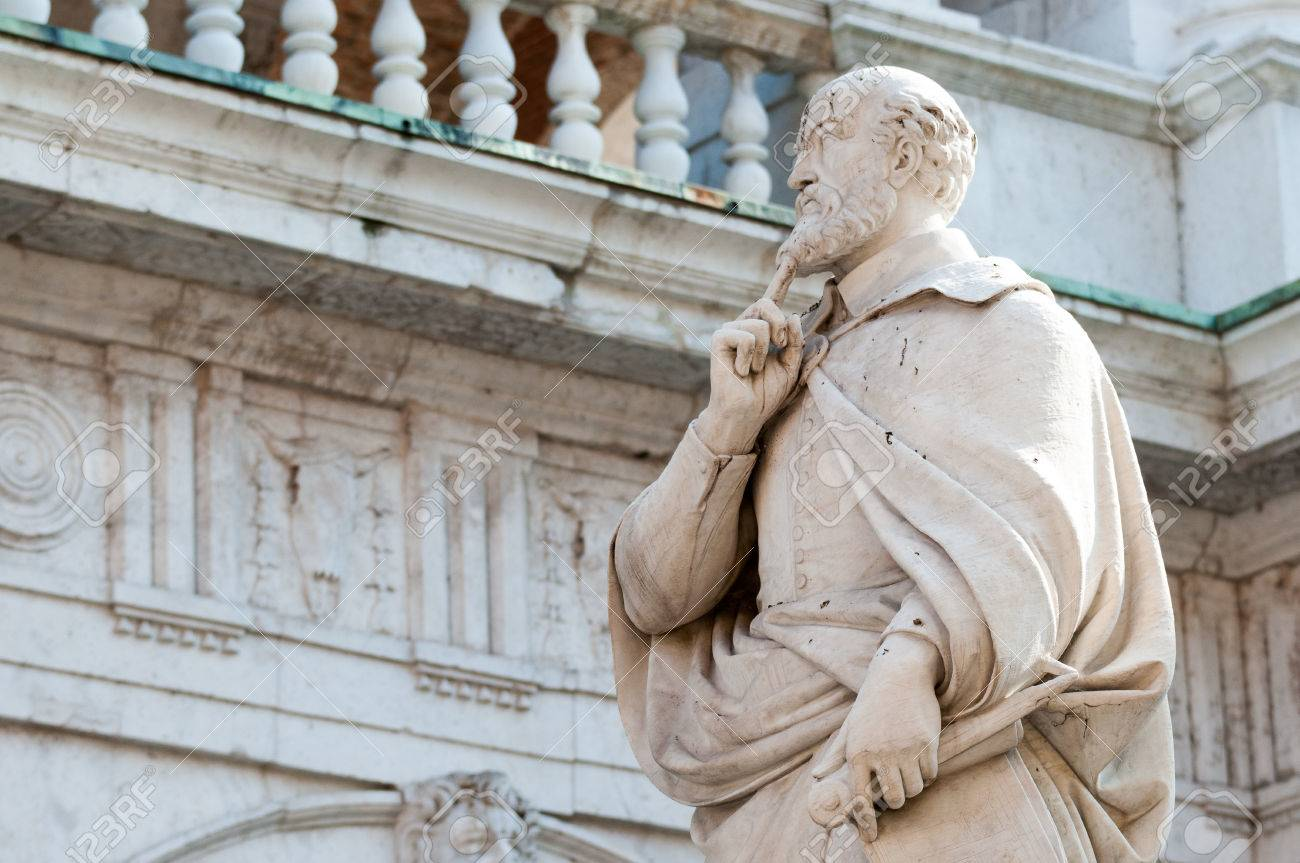 Famous Italian Architecture the statue of the famous italian architect of the renaissance