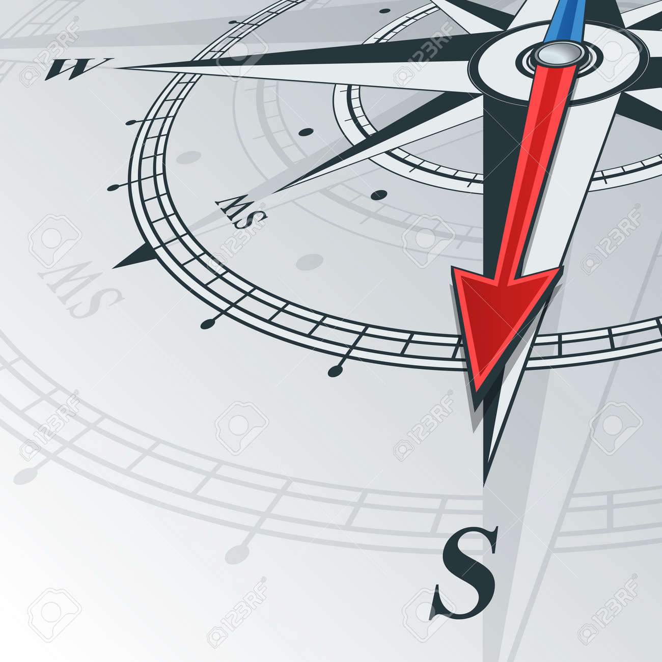 43820275-Compass-with-wind-rose-the-arrow-points-to-the-south-Illustrations--Stock-Photo.jpg