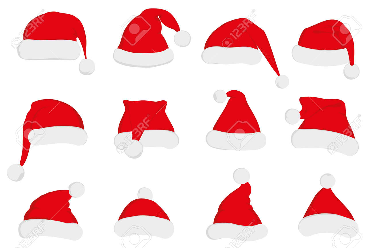 46,744 Santa Hat Stock Illustrations, Cliparts And Royalty Free ...