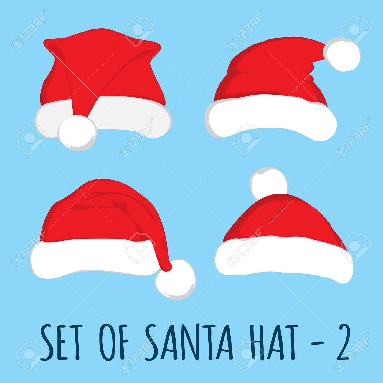 Santa Claus Hat Clipart | i2Clipart - Royalty Free Public Domain Clipart