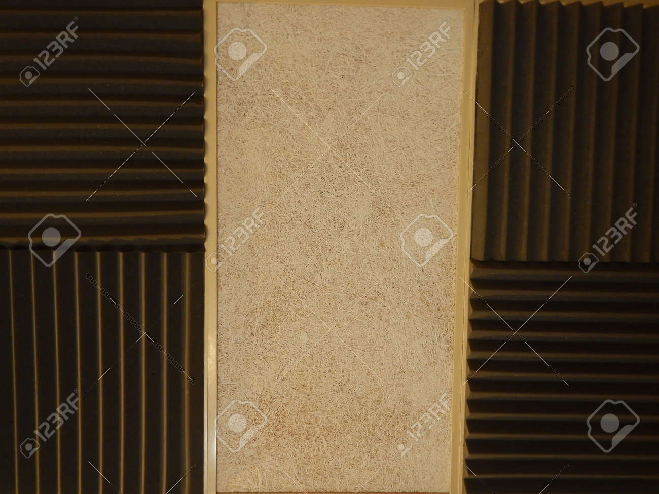 Acoustical Foam Or Tiles For Sound Dampening. Music Room. Soundproof ...