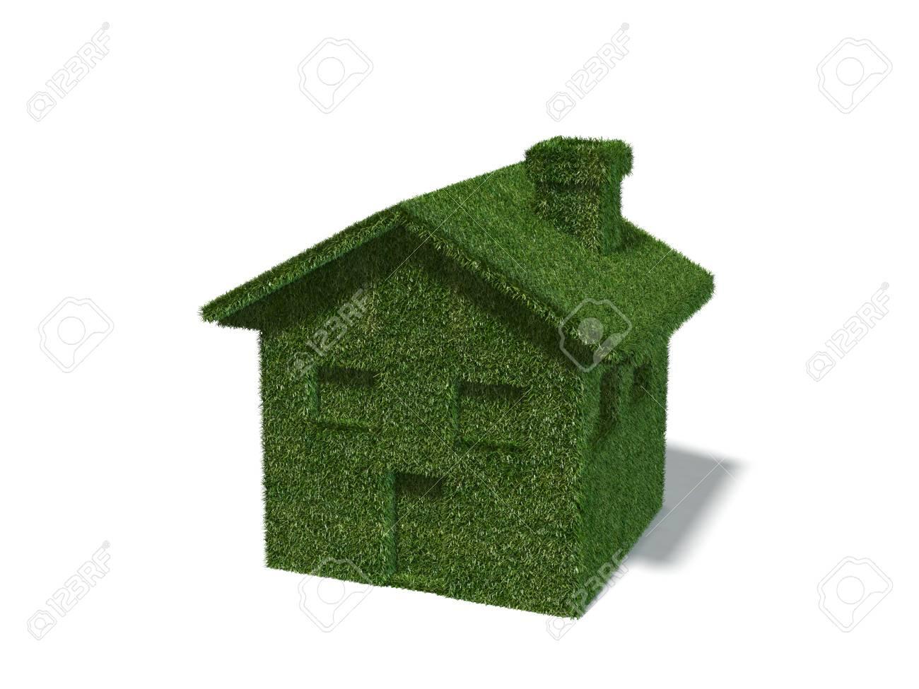 Green Ecology House Stock Photo   29624406