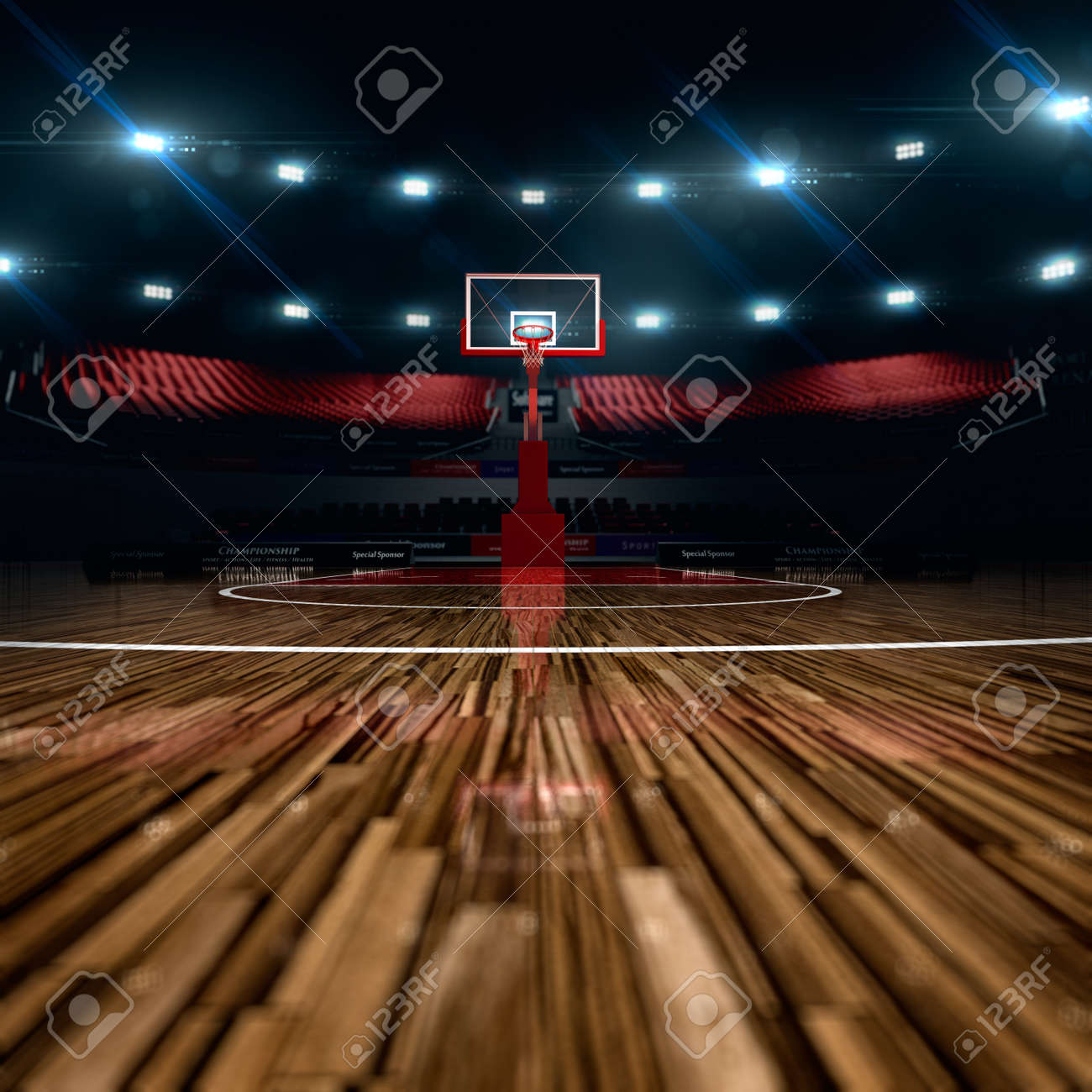 basketball court stock photos royalty free basketball court