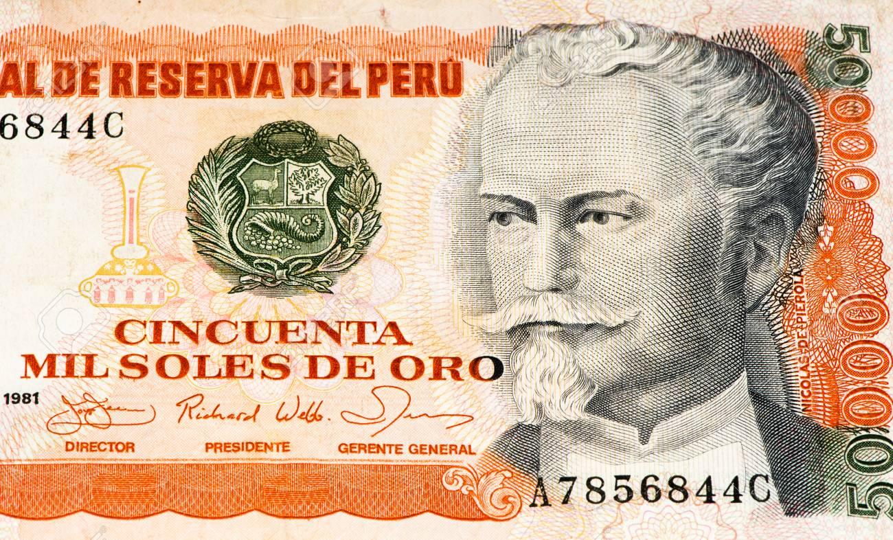 50000 soles de oro bank note soles de oro is the national currency soles de oro is the national currency of peru thecheapjerseys Choice Image