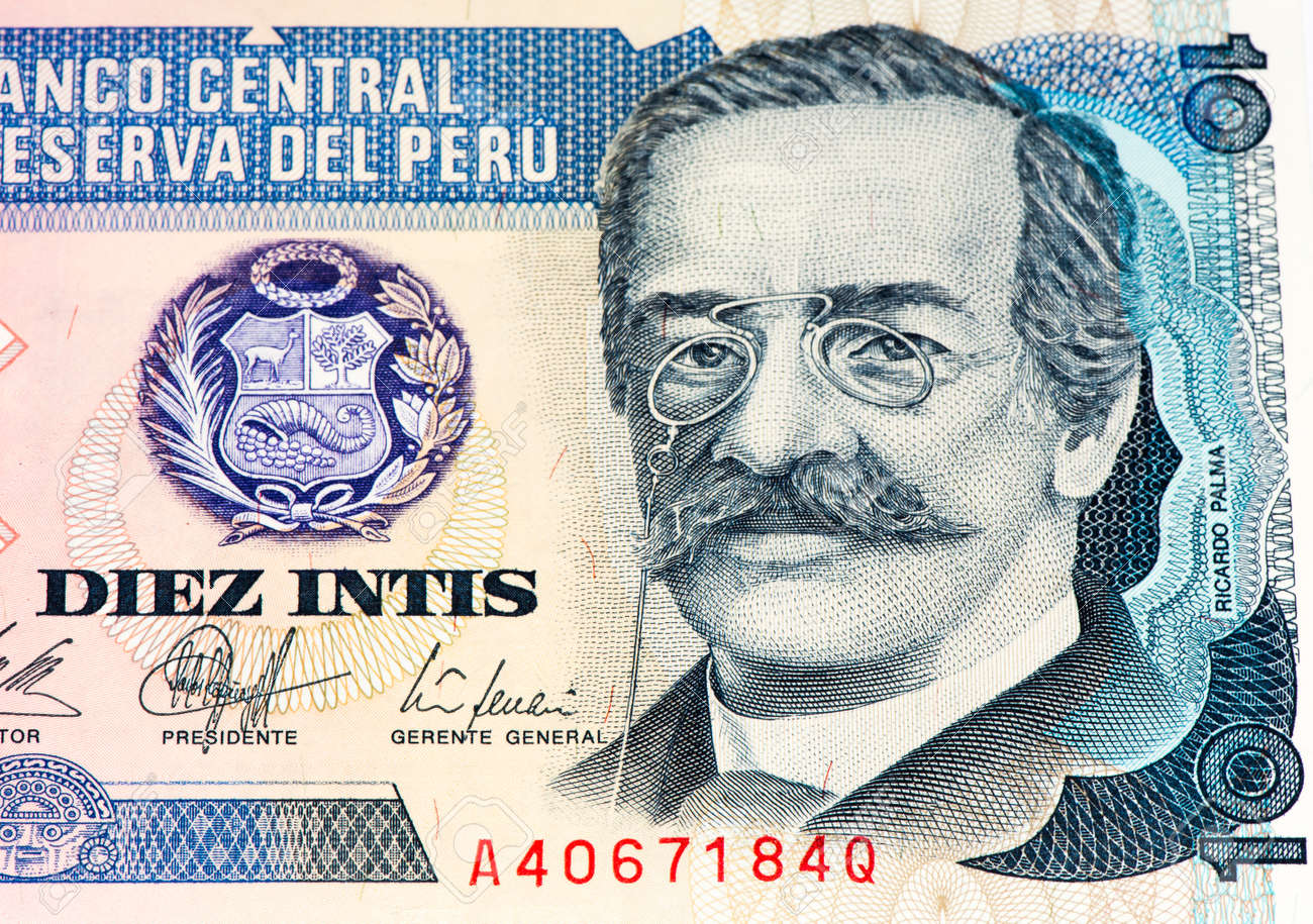 10 intis bank note inti is the former currency of peru stock photo inti is the former currency of peru stock photo 61853248 thecheapjerseys Choice Image