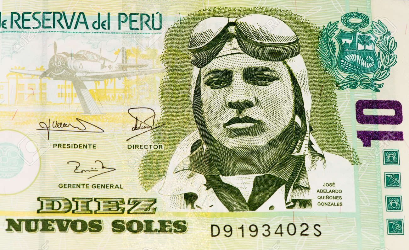 10 soles nuevos bank note soles nuevos is the national currency soles nuevos is the national currency of peru stock photo thecheapjerseys Choice Image