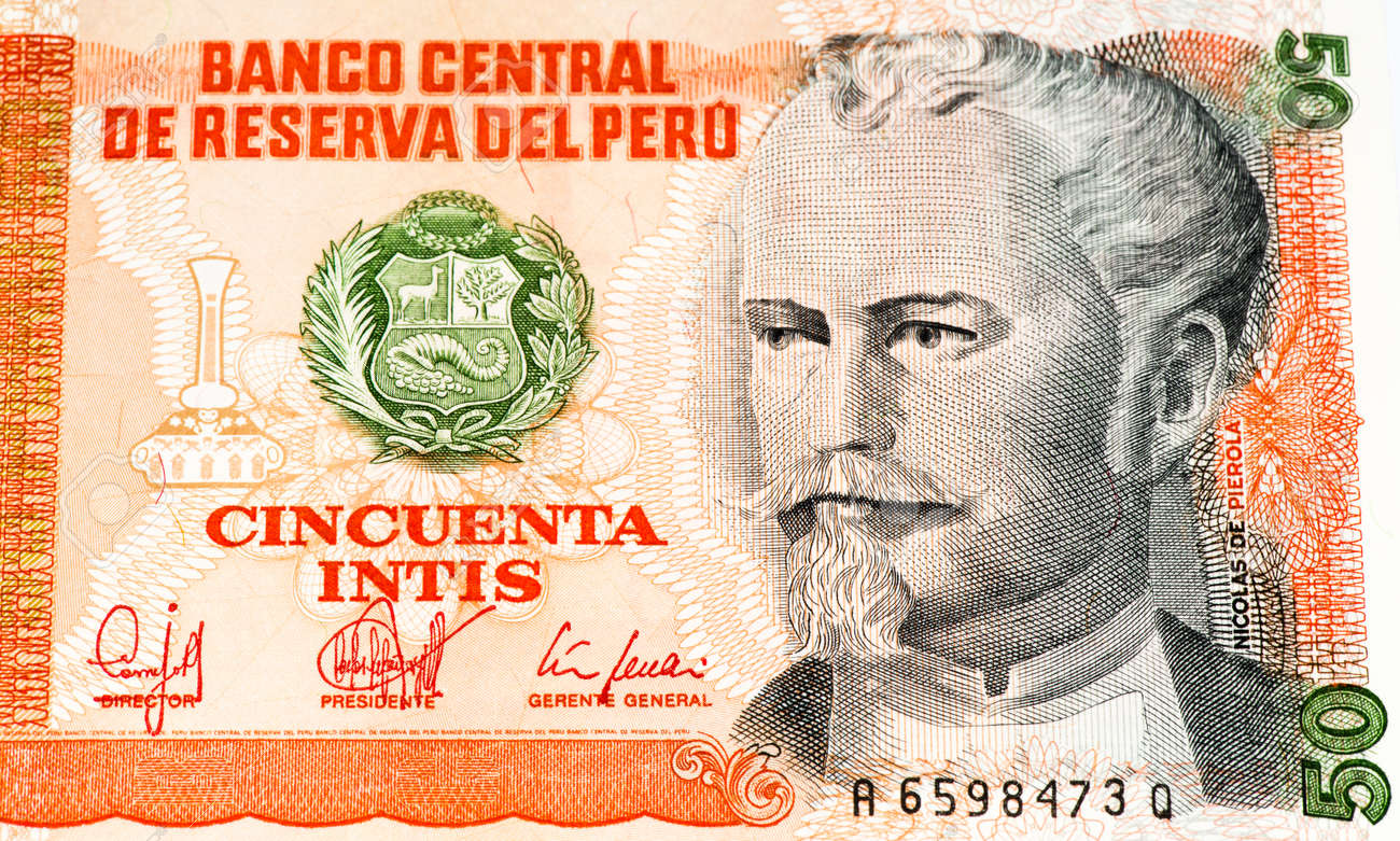 50 intis bank note inti is the former currency of peru stock photo inti is the former currency of peru stock photo 61980404 thecheapjerseys Choice Image