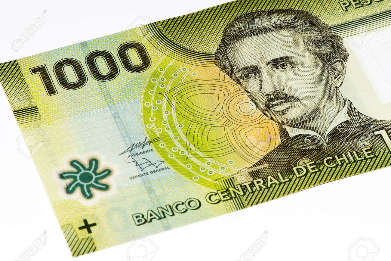 1000 Chilean Pesos Bank Note Chilean Peso Is The National Currency Stock Photo Picture And Royalty Free Image Image 61983496