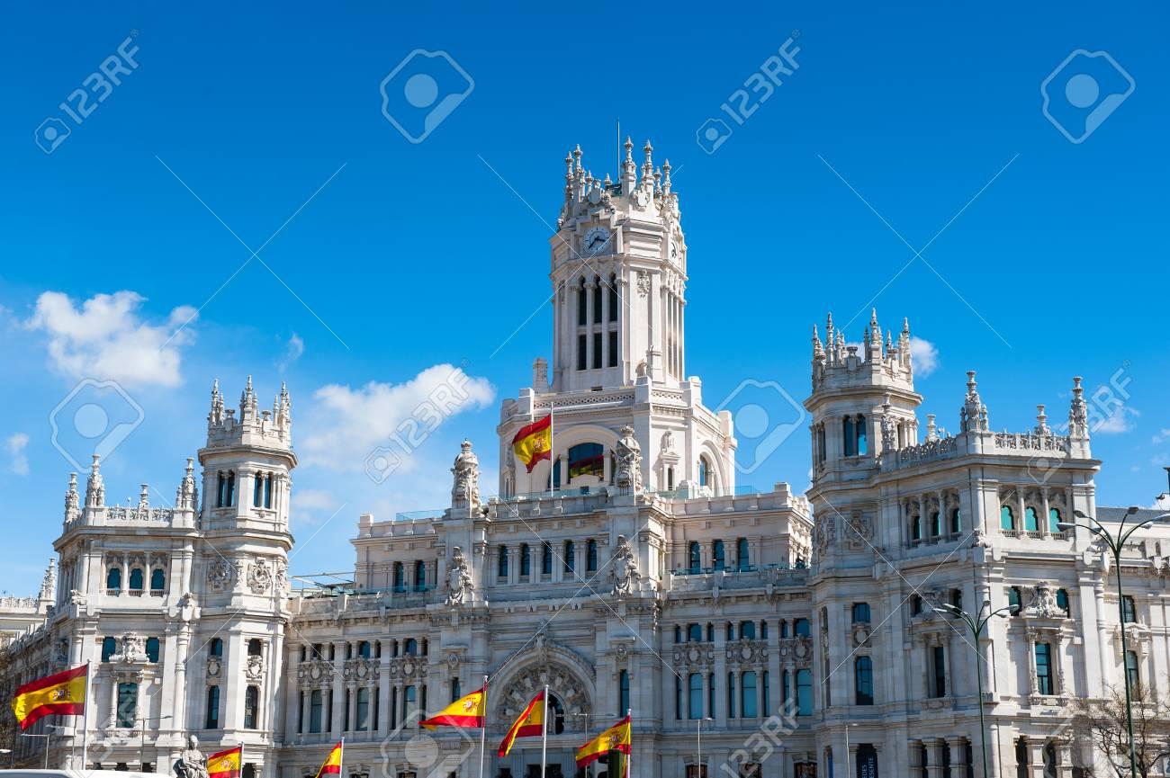 Cibeles Palace Palacio De Cibeles Madrid Spain It Was Home