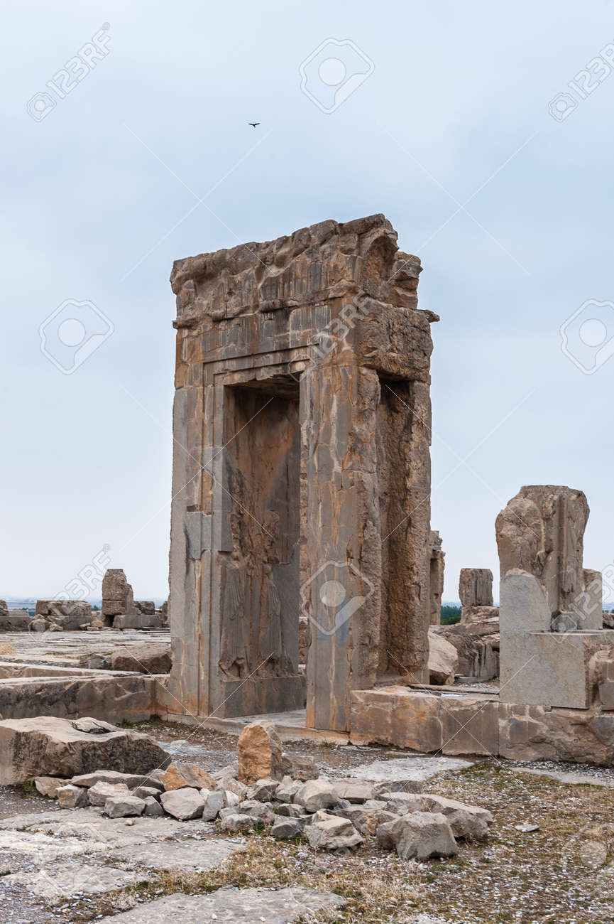 Ancient City Of Persepolis Iran Apadana Of Xerxes Stock Photo Picture And Royalty Free Image Image 92034159