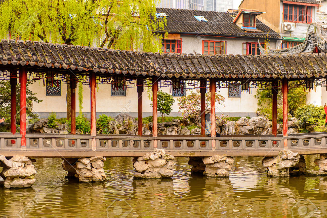 yu or yuyuan garden (garden of happiness), an extensive chinese..