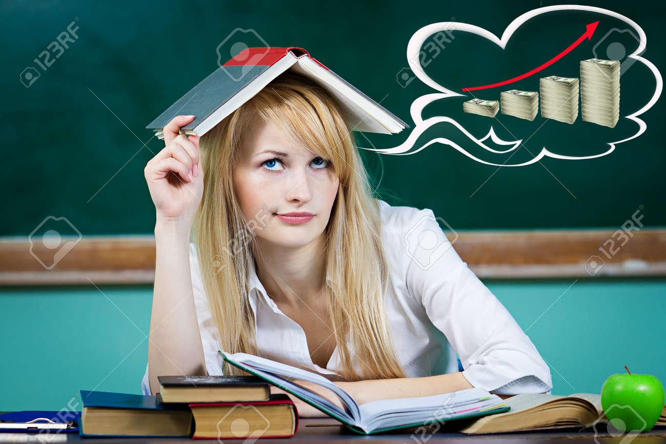 Фото крупным планом студенток 8 фотография