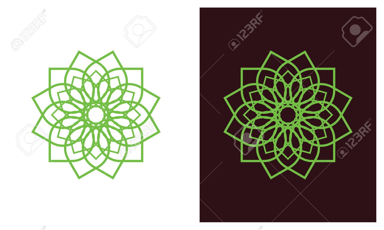 Nature leaf logo, environment logo , ecology logo template designs, Lotus Wellness Logo Design Template Element - 149275435