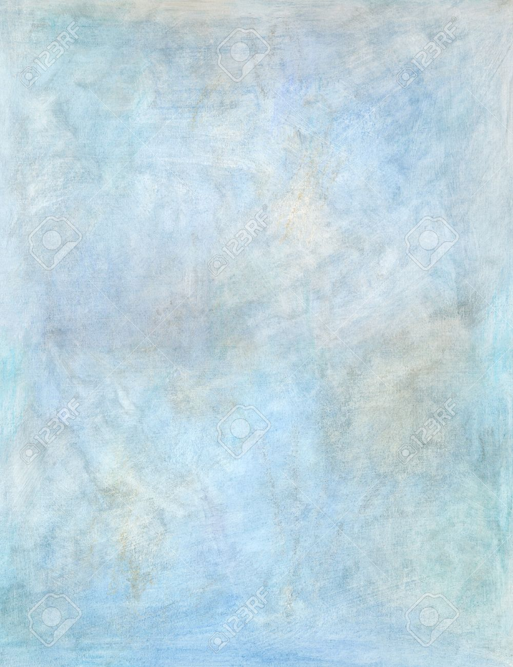 Artistic Blue Oil Painting Hand Painted Background Texture Stock