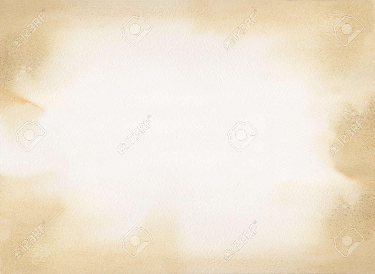 sepia watercolor texture background Stock Photo - 17086341