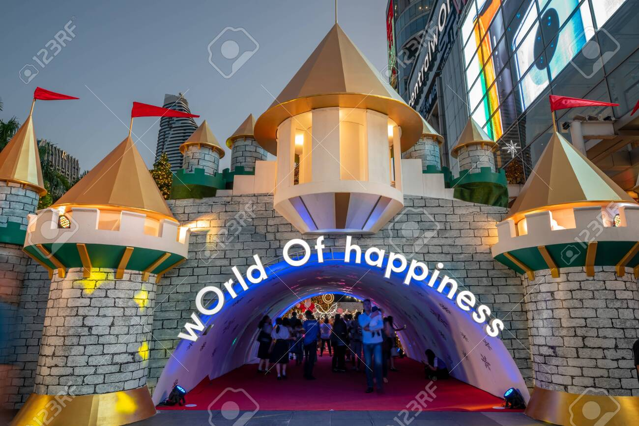 Bangkok Thailand December 16 2019 Christmas Celebration Stock Photo Picture And Royalty Free Image Image 136767703