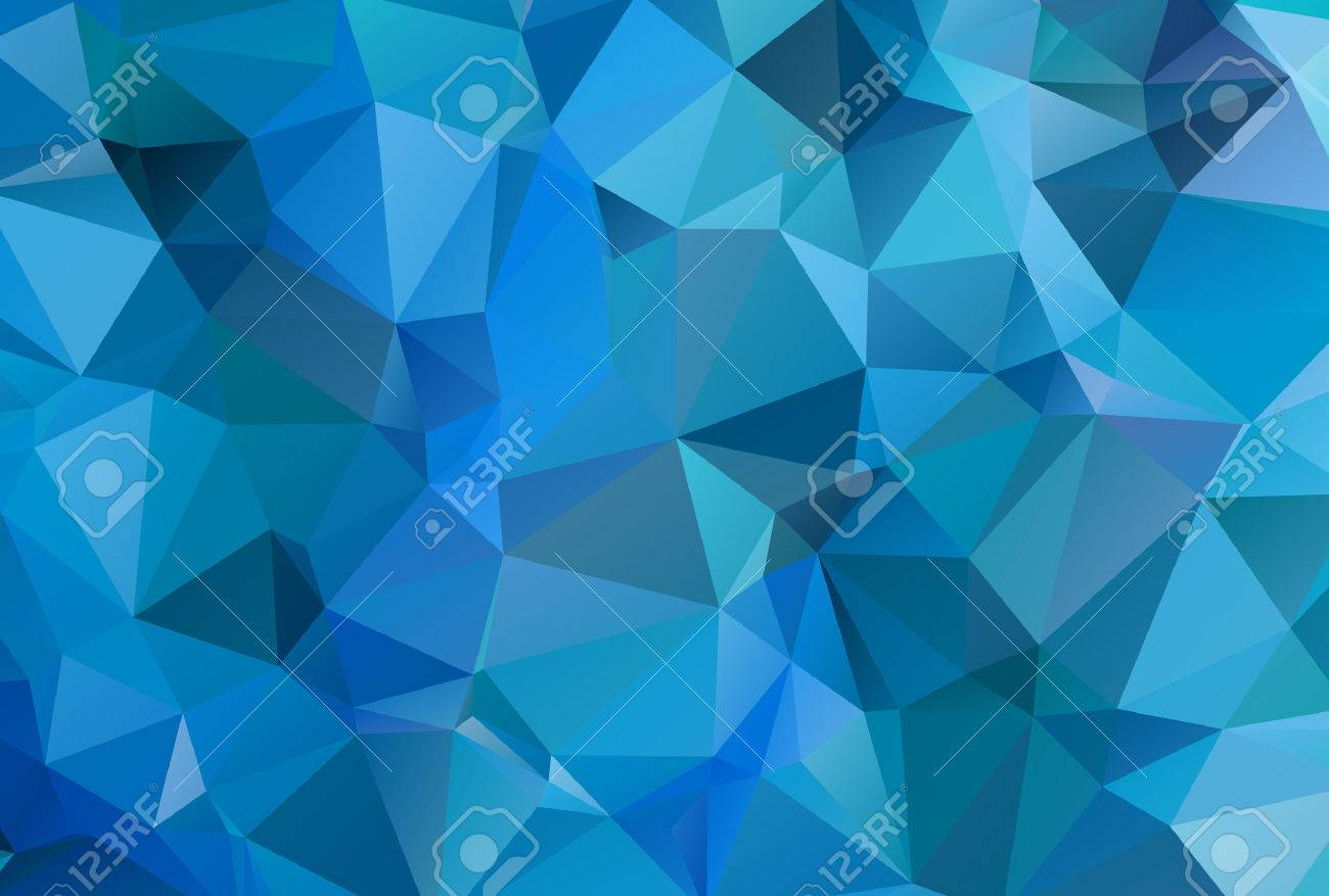 Abstract Colorful Triangular Background - 54462248