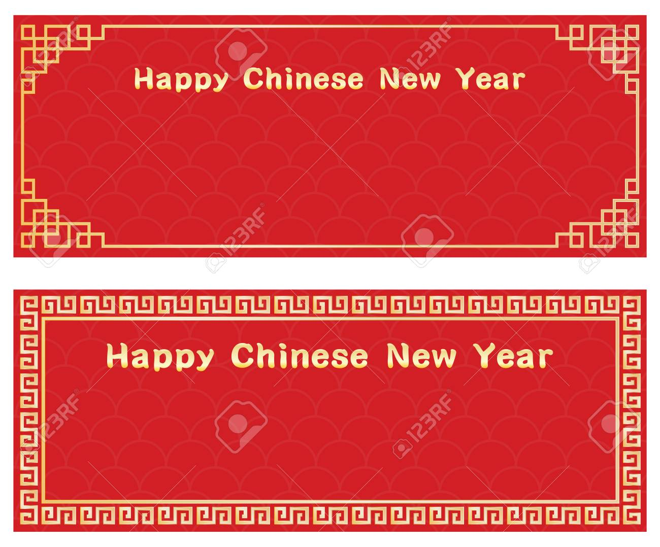 happy chinese new year with card template stock vector 69817963
