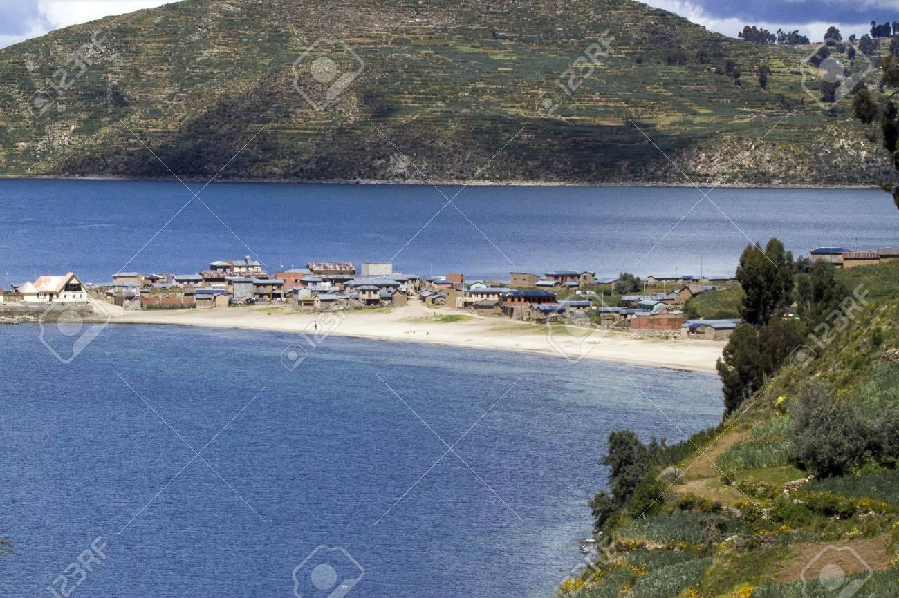 Isla del Sol  Lake Titicaca  Bolivia Stock Photo - 17828077
