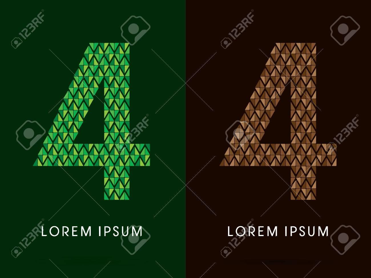 4 font concept leaf and rock designed using colors green 4 font concept leaf and rock designed using colors green and brown colors biocorpaavc Gallery