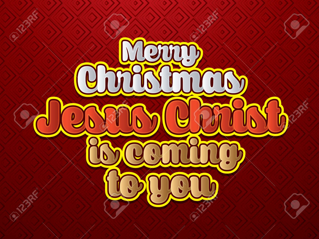 Merry Christmas Jesus.Merry Christmas Jesus Christ Is Coming To You Font Designed