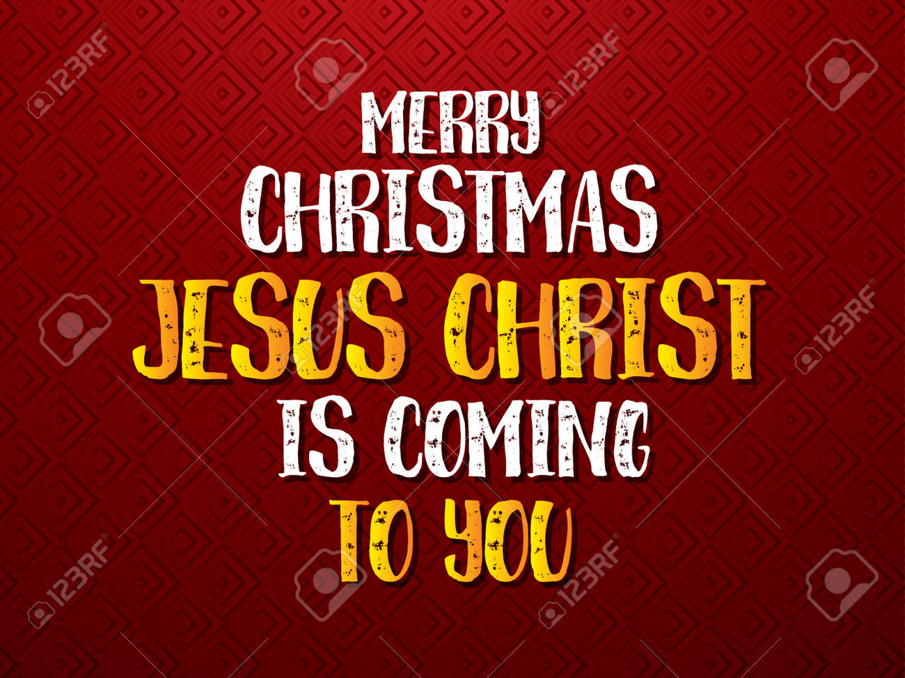 Merry Christmas Christian.Merry Christmas Jesus Christ Is Coming To You Font Designed