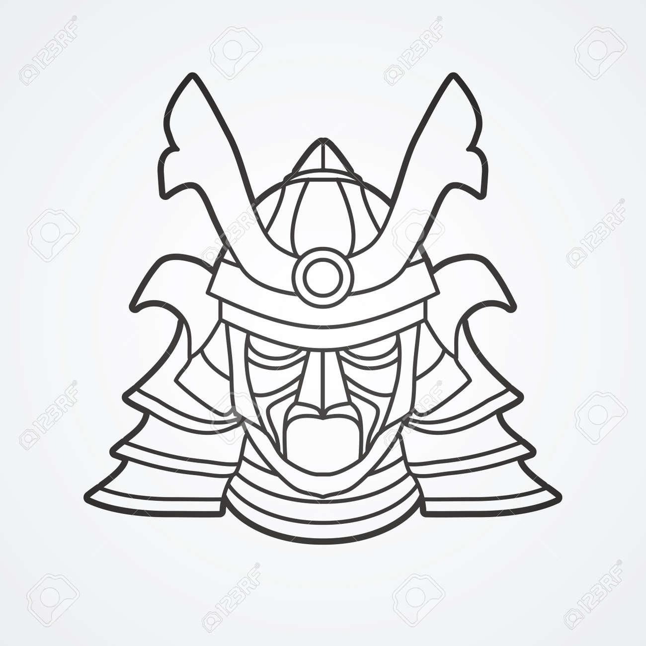 Lujo Guardas Samurai Para Colorear Bosquejo - Dibujos Para Colorear ...