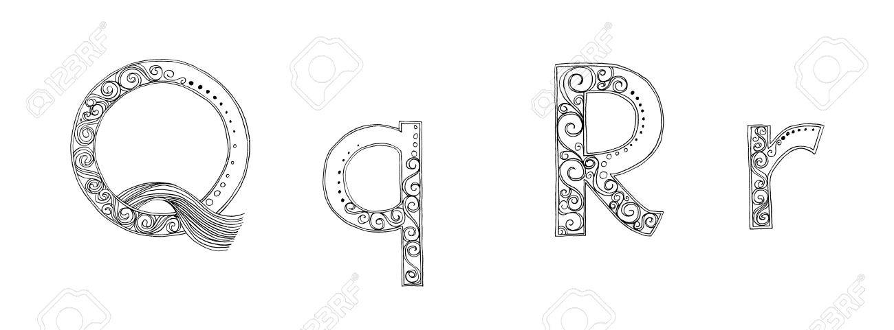 Calligraphy Designs Freehand Pencil Sketch And Scan Concept Fansy