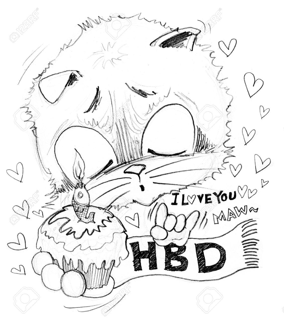 Alles Gute Zum Geburtstag Und Ich Liebe Dich Er Uberraschung Mit
